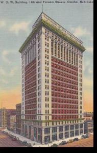 Nebraska Omaha W O W Building 14th And Farnam Streets