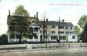 Rogers Hall School Lowell MA Unused