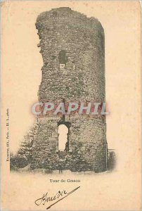 Old Postcard Tower of Cesson