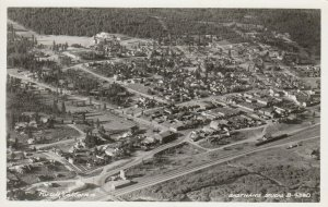 RP: Portola , California, 1930-40s ; Air View
