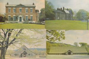 Rivington Hall Village Green Barn 4x Postcard