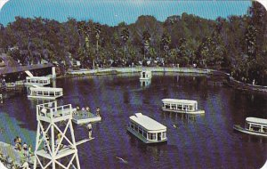Florida Silver Springs Glass Bottomed Boats