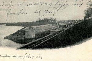KY - Louisville. Canal Locks