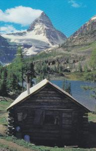 Mount Assiniboine, Log Cabin, The Canadian Rockies, CANADA,  40-60s