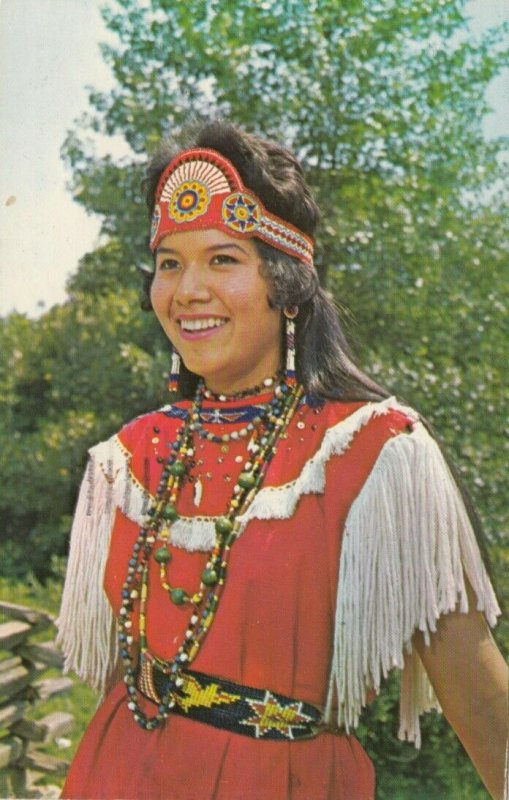 CHEROKEE, NC, PU-1964; Ann Walingstick, Indian Girl, Qualla Reservation