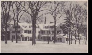 Massachusetts Amherst The Lord Jeffery In Winter Albertype