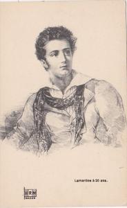 Lamartine a 20 Ans
