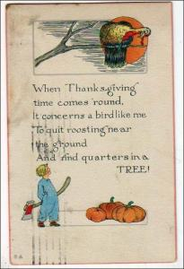 Thanksgiving Time Comes