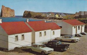 PERCE, Province of Quebec, Canada; The Three Sisters Cabins, Classic Cars, 40...