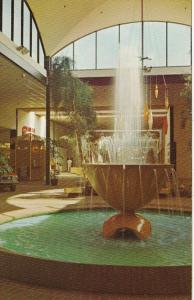 Mississippi Biloxi Edgewater Plaza Mall Interior Showing Fountain