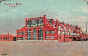 LPS70 Erie Pennsylvania Erie Engine Works Foundry Postcard