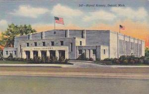 Naval Armory, Detroit, Michigan, 30-40s