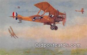 Postcard Post Card Royal Aircraft Factory BE 2D, WWI