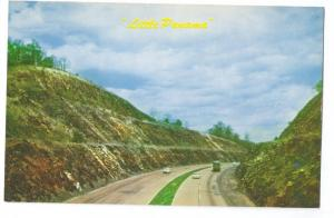 PA Turnpike Little Panama Deepest Cut Pennsylvania HOJO Mike Roberts Postcard
