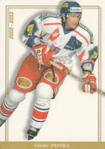 CZECH REPUBLIC ,2003 ; Ice Hockey Player Vaclav Pletka
