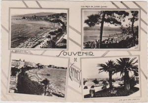 RP: 4 Views of Cannes, France: La Croisette, Jardin, Vue Prise de Super Cannes