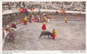 Bull Ring , the Toreador in action , TIJUANA , Baja California , Mexico ; 00-10s
