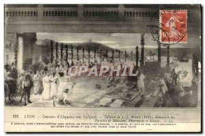 Old Postcard Lyon Eloquence Competition in Caligule Hemicycle of Pharmacy and...