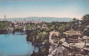 New York Ulster County The Wildmere From Cliff House Lake Front Lak Minnewask...