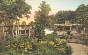 Rutland Vermont~Green Mountain Club~Long Trail Lodge~1937 Hand-Colored Albertype
