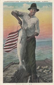 EDGEWATER (Hawks Edge) , Florida , PU-1933; Championship Bass