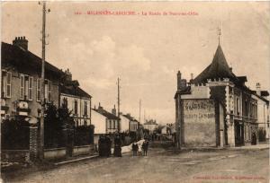 CPA MIGENNES - LAROCHE - La Route de BUSSY-en-OTHE (358498)