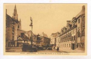 Grenoble France., 00-10s La Place St-Andre et le Palais de Justice
