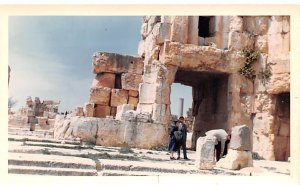 Hexagonal Courtyard, Non Postcard Backing, Baalbek, Lebanon , Carte Postale w...