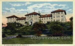 St. Johns Orphan Asylum Utica NY Unused