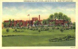Greenbrier Military School - Lewisburg, West Virginia