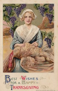 John Winsch ; THANKSGIVING , 1911 ; Best Wishes