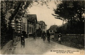 CPA Ste-MARIE-sur-MER - Sur la Route de PORNIC (587567)