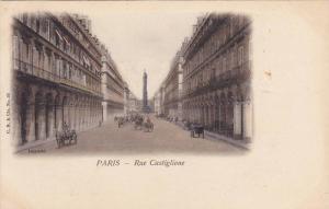 Paris , France , 1900s : Rue Castiglione