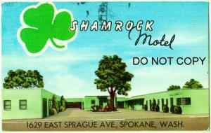 Shamrock Motel, Spokane Wash