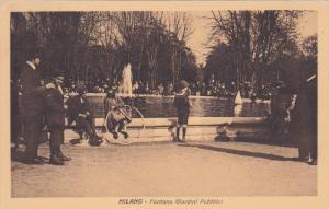 MILANO , Italy , 00-10s : Fontana Giardini Pubblici