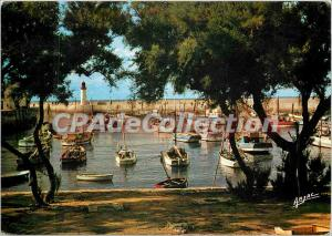 Modern Postcard La Cote de Lumiere Ile d'Oleron the Cotiniere Harbor Fishing