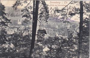SONNEBERG i.  Th. , Germany , PU-1909 ; Blick auf Sonneberg