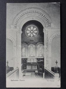 Kent: Barfeston Church, The Chancel c1904 by J.Davis No.1054