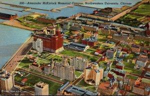 Illinois Chicago Aerial View Alexander McKinlock Memorial Campus Northwestern...