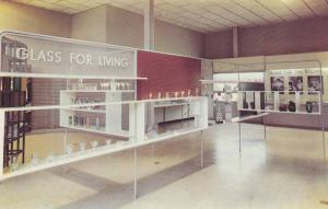 Interior View, THe Hall of Science, Corning Glass Center, Uses of Glass in Mo...