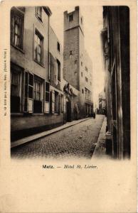 CPA AK METZ - Hotel St-Livier (393076)