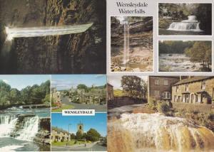 Hawes Wensleydale Waterfalls 4 Postcard s