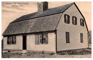 Massachusetts  Uxbridge Coronet John Farnum House
