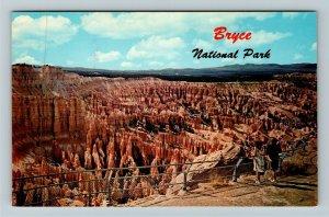 Bryce UT- Utah, Greetings, Bryce Canyon National Park, Aerial, Chrome Postcard