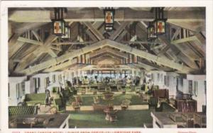 Grand Canyon Hotel Lounge From Office Yellowstone National Park