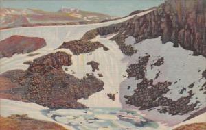 Colorado Iceberg Lake Trail Ridge Road Between Estes Park and Grand Lake Rock...