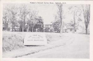 Woman's Relief Corps Home - Oxford NY, New York - pm 1950