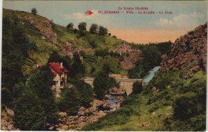 CPA CROZANT - Villa - La Sedelle - Le Pont (121728)