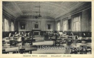 Reading Room, Library - Wellesley, Massachusetts MA