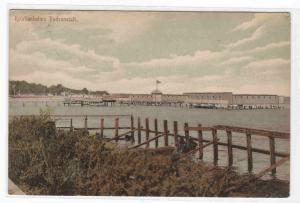 Badeansalt  Bathing Baths Kristianholms Sweden 1907 postcard